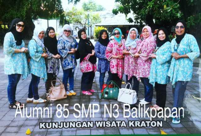 wisata Alumni 85 smp n3 kalimantan