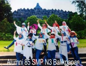 wisata Alumni 85 smp n3 Balikpapan
