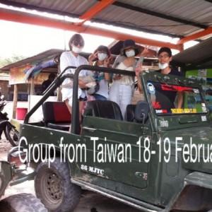 para wisatawan dari taiwan