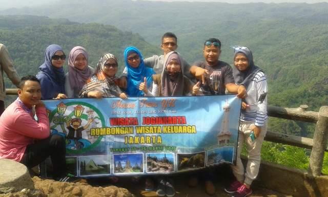 Klien Rombongan Wisata Keluarga Dari Jakarta ke yogyakarta