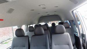 interior mobil hiace